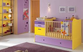 chambre enfant violet chambre enfant chambre bébé fille violet jaune 27 idées