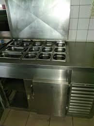 rest einer gastro küche wirtschaft palux zanussa edelstahl zu