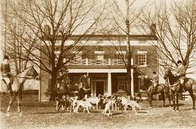Shed Row Barns Virginia by Thomas Talbot Exclusive Real Estate Middleburg Virginia Green Garden