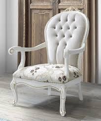 casa padrino barock sessel mit glitzersteinen und blumenmuster hellgrau creme beige weiß gold 115 x 80 x h 80 cm wohnzimmer möbel im