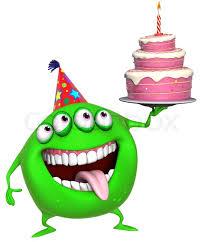 Animated Birthday Cake Clip Art Image A Single Slice A Layered Birthday Cake With