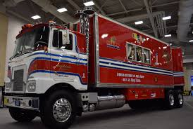 100 Great American Trucking The Units Triumphant Unveiling At The Show