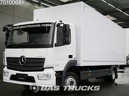 MERCEDES-BENZ Atego 1223 L German-truck Ladebordwand Euro 6 Closed ...