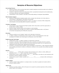 8 Resume Objectives Examples