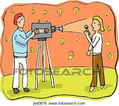 Stock Illustration Of News Reporter Jba0876
