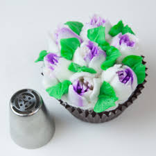 Cakes Decorated With Russian Tips by Russian 6 Petal Tulip Tip Russian Tips