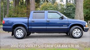 2002 CHEVROLET S10 CREW CAB LS V6 4X4 - YouTube Classic Chevrolet S10 For Sale On Classiccarscom Trucks Classics Autotrader Reviews Research New Used Models Motor Trend Pickup For Nationwide Ch100 Wikipedia Sold 2003 Ls Extended Cab Meticulous Motors Inc Chevrolet 2980px Image 11 2000 Pickup Pictures Information And Specs All Chevy Mpg Old Photos Collection Hawkins In Danville Pa Dealership Vwvortexcom Fs 84 Bagged S10 Longbed Wtpi 350 S10s