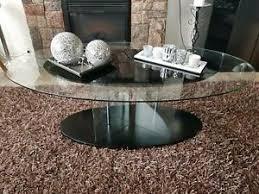 wohnzimmertisch glastisch oval wohnzimmer ebay kleinanzeigen