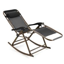 Zero Gravity Rocking Chair With Headrest Folding Reclining Chair For  Garden, Lawn, Camping, Pool, Patio,... Kawachi Foldable Zero Gravity Rocking Patio Chair With Sunshade Canopy Outsunny Folding Lounge Cup Holder Tray Grey Varier Balans Recliner Best Choice Products Outdoor Mesh Attachable And Headrest Gray Part Elastic Bungee Rope Cords Laces For Replacement Costway Rocker Porch Red 2 Packzero Pieinz Gadgets In Power Recliners Vs Manual Reclinersla Hot Item Luxury Airbag Replace Massage Garden Adjustable Sun Lounger Zerogravity Seat Side Deck W Orange Marvellous Lane Fniture For Real