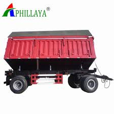 100 Toy Farm Trucks And Trailers Hot Item 4 Axles Tipping Drawbar Trailer For Mining Or Garden