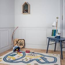 tapis chambre enfant garcon tapis circuit bleu pour chambre garçon par for