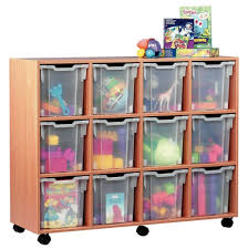 Furniture Fancy Transparent Plastic Storage Cubes For Toys In