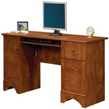 realspace dawson computer desk 30 h x 60 w x 24 d brushed maple