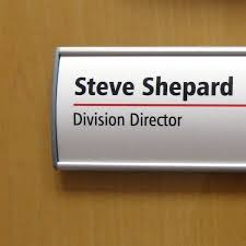 Wall Mount Name Plate