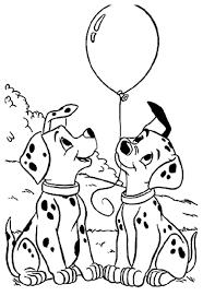 Beste Coloriage 101 Dalmatiens Chiot Chapeau Bilder Malvorlagen