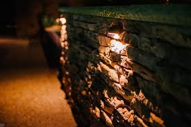 wall wash lighting is a way to illuminate patios with
