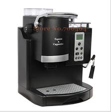 Commercial Automatic LCD Espresso Coffee Machine Multi Language Grinding Cd Screen Cappuccino Maker 20