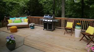 Patio Floor Ideas On A Budget by Deck Design Ideas And Pictures Diy