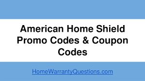 American Home Shield Promo Codes and Coupon Codes