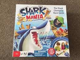 Shark Mania Board Game Excellent Condition Complete
