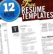 Free Resume Templates Job Access For Your