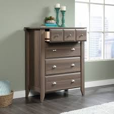 Sauder Shoal Creek Desk Jamocha Wood by Sauder Shoal Creek 4 Drawer Chest Diamond Ash Walmart Com
