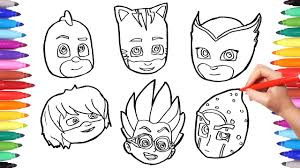 Amazing Pj Mask Coloring Pages To Color And Print For Style