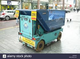 100 Electric Mini Truck Bradshaw PC40 Pedestrian Controlled Four Wheel Cleansing