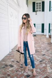 abercrombie blush pink trench coat something beautiful the blog