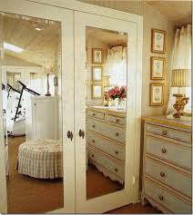The Lisa Porter Collection Luv these mirrored closet doors