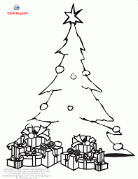 Christmas Tree Coloring Page Print by Crazy Tree Coloring Pages Christmas Coloring Pages For Christmas