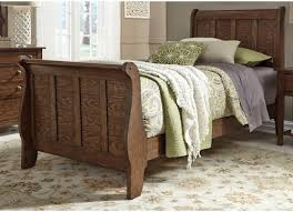 Full Sleigh Bed by Liberty Furniture Grandpa U0027s Cabin Full Sleigh Bed Westrich