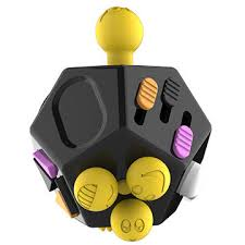 China 12 Sided Magic Fidget Cube 20 For Stress Toy Desk With Retail