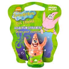 Spongebob Fish Tank Ornaments by Spongebob Penn Plax Spongebob Patrick Aquarium Ornament Aquarium