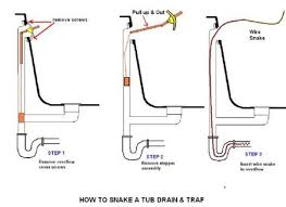 Unclogging A Stubborn Bathtub Drain by 34 Snake For Shower Drain Clear Stubborn Clogs How To Unclog A