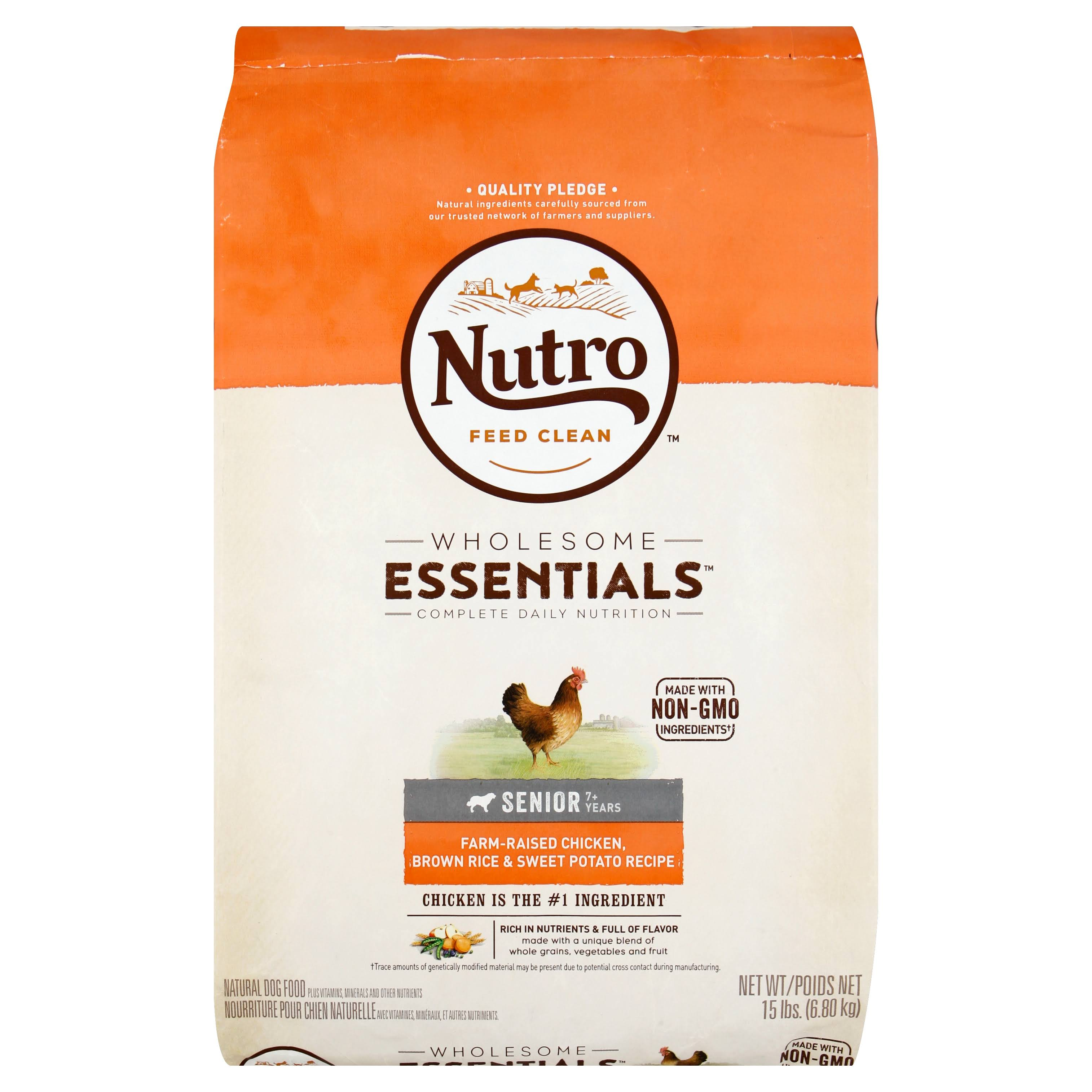 Nutro Wholesome Essentials Dog Food - Chicken Brown Rice & Sweet Potato Recipe