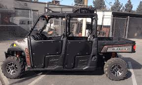 Polaris Ranger XP 900 Crew Steel Frame Doors with Aluminum Skins