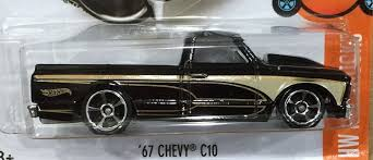 Amazon.com: Hot Wheels, 2016 HW Hot Trucks, '67 Chevy C10 [Black ... 6772 Chevy Truck Longbed 1970 Beautiful Custom 67 New Cars And I Wann See Some Two Door Short Bed Dullies The 1947 Present 1967 C10 22 Inch Rims Truckin Magazine 1972 Chevy Trucks Youtube To Mark A Century Of Building Names Its Most Truck Named Doc Dream Pinterest Classic 6768 C10 Roll Back Db D Rebuilt To Celebrate 100 Years Making Trucks Chevrolet Web Museum