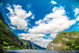 100 Stunning Views Mountains And Fjord In Norway Clouds And Blue Sky Beautiful