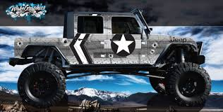 Jeep Wraps, Vehicle Wrap, Custom 4x4 Jeep Wraps