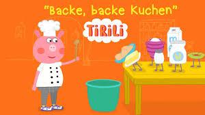 backe backe kuchen tirili kinderlied