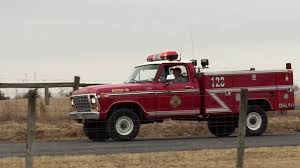 100 Ford Fire Truck 79 F250 Fire Truck Brush Truck Support YouTube