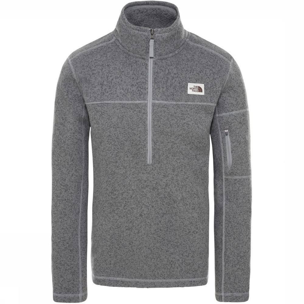The North Face Men's Gordon Lyons 1/4 Zip TNF Medium Grey Heather / M