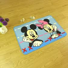 mickey mouse bathroom rug set Cute and Unique Mickey Mouse
