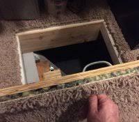 Crawl Space Access Cover Ideas Interior Door Encapsulation Well