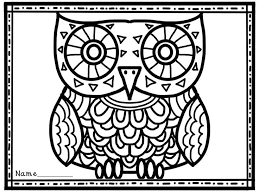 Halloween Owl Coloring Pages Festival Collections