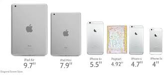 iPhone iPad Pop Tart Size Chart Business Insider
