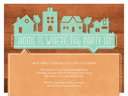 New Home Invitations