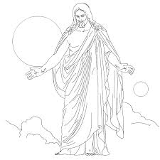 Jesus Coloring Page Free Printable Pages For Kids