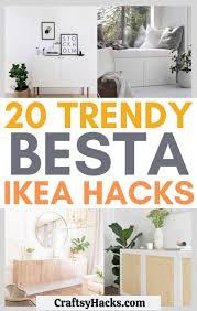 20 trendy ikea besta hacks craftsy hacks